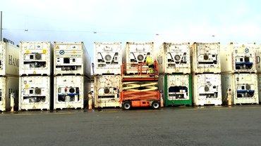 Hamburger Container und Chassis Reparatur