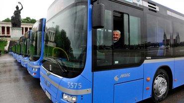 Fahrer der Münchner Verkehrsgesellschaft