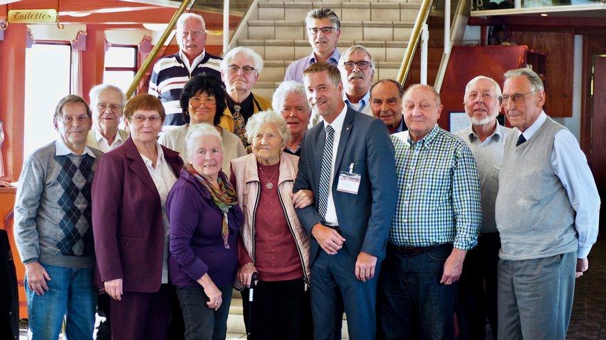 Am 08.10.2017 wurde die ver.di Jubilare des Fachbereiches Verkehr in Hamburg bei bestem Wetter geehrt. Eingeladen waren Jubilare mit Mitgliedszeiten von 25, 40, 50, 60, 65 und 70 Jahren der Gewerkschaftszugehörigkeit.
