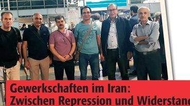 Gewerkschaftsdelegation aus dem Iran