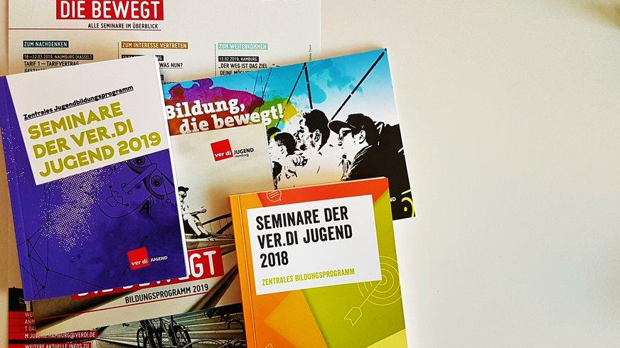 Bildungsprogramm 2018 und 2019 der ver.di Jugend und ver.di Jugend Hamburg