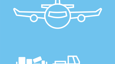 Logo, Luftverkehr, Fachbereich Verkehr