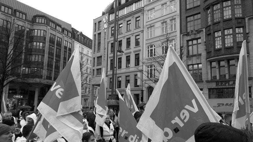 1. Mai, 2019, Hamburg, ver.di, Verkehr