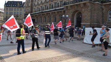 Demonstration von ver.di und FFF