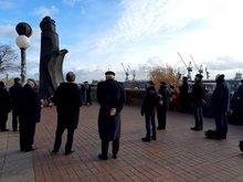 Gedenkgottesdienst der Seemannsmission für die auf See Verstorbenen