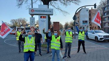 Streikimpressionen TEREG Hamburg