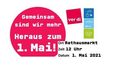 1. Mai Kundgebung Fachbereich Verkehr Hamburg